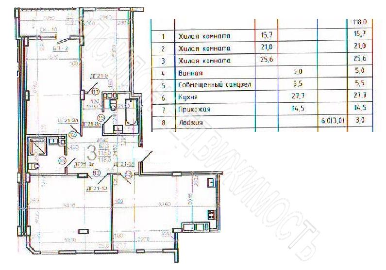 Продам 3-комнатную квартиру в городе Курск, на улице Гайдара, 26а, 4-этаж 10-этажного Монолит дома, площадь: 118/62.3/27.7 м2