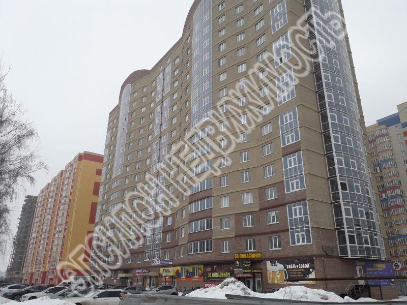 Продам 1-комнатную квартиру в городе Курск, на улице А. Дериглазова пр-т, 63, 15-этаж 16-этажного Монолит дома, площадь: 47/21/12 м2